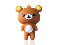 小棕熊PVCu盘定制