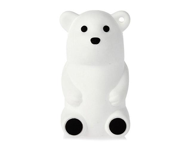 北极熊硅胶U盘