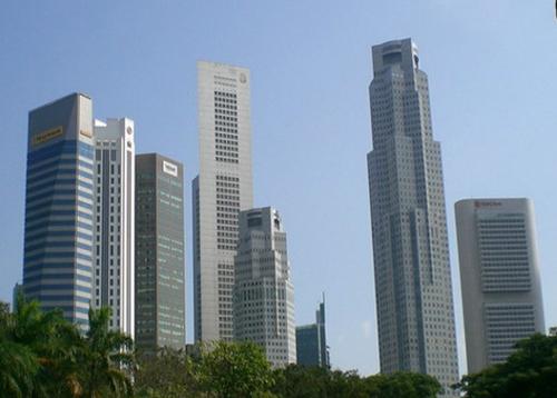 新加坡地标建筑个性旅游纪念品
