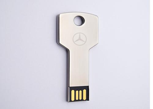 奔驰宣布下调价格惠益广大消费者 携手斯乐克u盘生产厂家定制钥匙u盘回馈客户